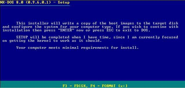NX-DOS